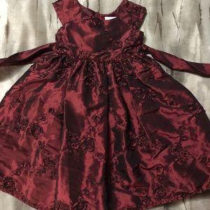 Other - Beautiful burgundy holiday dress